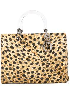 Christian Dior сумка с принтом Lady Dior