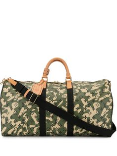 Louis Vuitton сумка Keepall Bandouliere 55 из коллаборации с Takashi Murakami