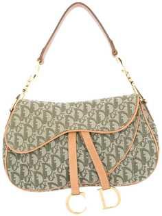 Christian Dior сумка-седло на плечо