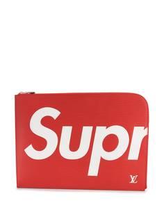 Louis Vuitton клатч Jules GM из коллаборации с Supreme