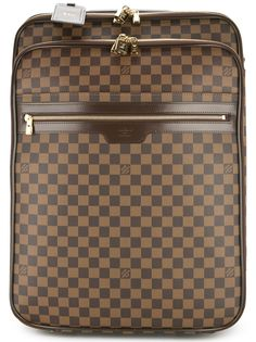 Louis Vuitton чемодан с узором с логотипом