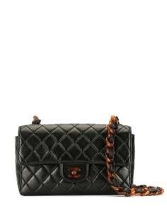 Chanel Pre-Owned сумка на плечо 1997-го года со вставками черепаховой расцветки
