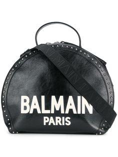 Balmain сумка-тоут Paris с логотипом и заклепками