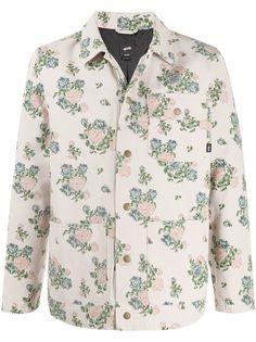 Vans куртка Chore с цветочным принтом из коллаборации с Jim Goldberg
