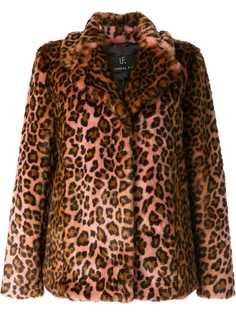 Unreal Fur шуба с леопардовым принтом