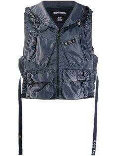 Neighborhood куртка с капюшоном и накладными карманами
