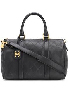 Chanel Pre-Owned стеганая сумка 1990-х годов