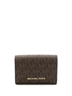 Michael Michael Kors кошелек с монограммой