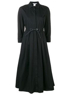 Max Mara платье-футболка на кулиске