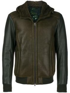Etro куртка из искусственной кожи