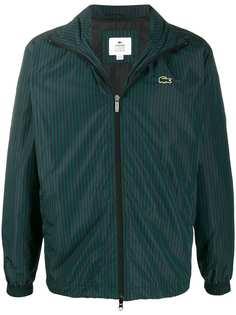 Lacoste полосатая куртка на молнии