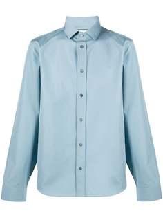 Gucci рубашка с косым воротником