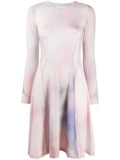Wood Wood короткое платье с длинными рукавами