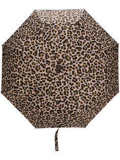 Mackintosh зонт AYR с леопардовым принтом