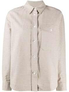 Wood Wood клетчатая рубашка с длинными рукавами