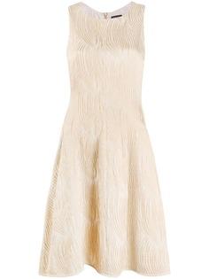 Emporio Armani фактурное платье мини