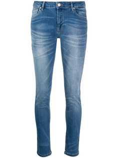 Frankie Morello джинсы скинни из вареного денима