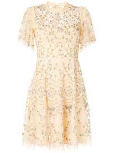 Needle & Thread короткое кружевное платье