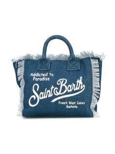 Mc2 Saint Barth Kids джинсовая пляжная сумка Colette