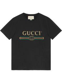Gucci футболка с логотипом бренда