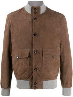 Eleventy куртка с контрастными вставками