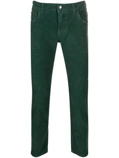 Dolce & Gabbana вельветовые джинсы кроя слим
