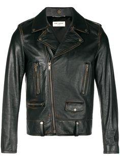 Saint Laurent байкерская куртка