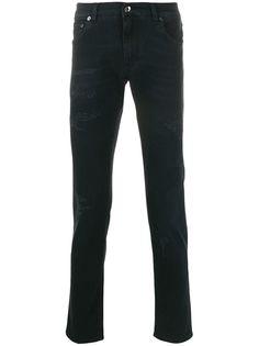 Dolce & Gabbana джинсы кроя слим с эффектом потертости