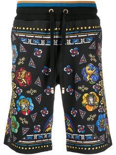 Dolce & Gabbana шорты-бермуды с принтом