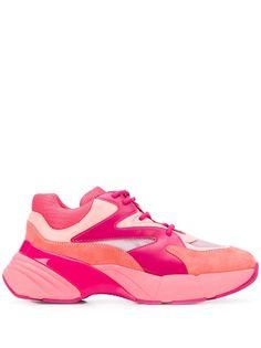Pinko кроссовки в стиле колор-блок