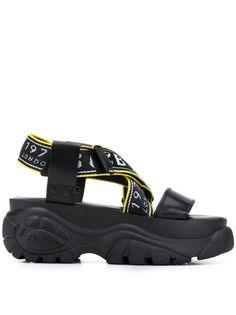 Buffalo сандалии Bo на платформе
