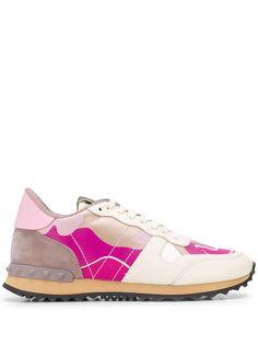 Valentino кроссовки Valentino Garavani Rockstud с камуфляжным принтом