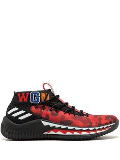 adidas кроссовки DAME 4 Bape
