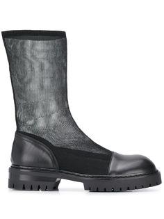 Ann Demeulemeester прозрачные ботинки