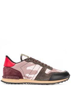 Valentino камуфляжные кроссовки Valentino Garavani Rockrunner