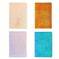 Записная книжка подарочная формат а5, 80 листов, линия, блок 70г, обложка микс рептилия Calligrata