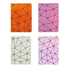Записная книжка подарочная формат а6, 80 листов, линия, блок 70г, обложка лайт голография Calligrata