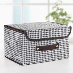 Короб для хранения с крышкой 26×20×16 см Доляна