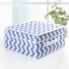 Короб для хранения с крышкой 30×30×12 см Доляна