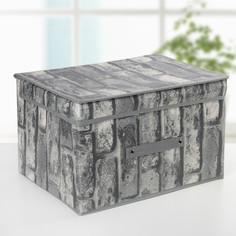 Короб для хранения с крышкой 40×31×25 см Доляна