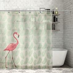 Штора для ванной 180×180 см Доляна