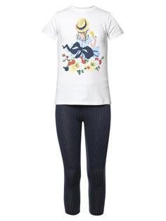 Комплект футболка капри MD