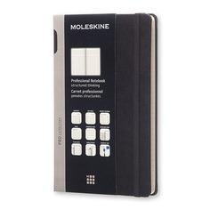 Блокнот Moleskine PROFESSIONAL Large 130х210мм 240стр. твердая обложка черный 6 шт./кор.