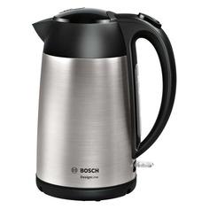 Чайник электрический Bosch TWK3P420, 2400Вт, черный