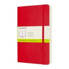 Блокнот Moleskine CLASSIC SOFT EXPENDED Large 130х210мм 400стр. нелинованный мягкая обложка красный