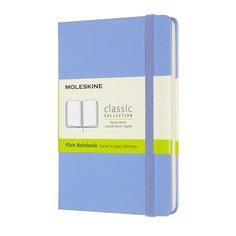 Блокнот Moleskine CLASSIC Pocket 90x140мм 192стр. нелинованный твердая обложка голубая гортензия