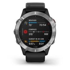"""Смарт-часы GARMIN Fenix 6 sapphire, 47мм, 1.3"""", черный / черный [010-02158-11]"""