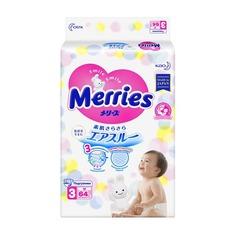 Подгузники MERRIES Medium, 6-11 кг, 64 шт. [01.00.32.23084]