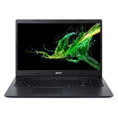 """Ноутбук ACER Aspire 3 A315-55KG-32X6, 15.6"""", Intel Core i3 7020U 2.3ГГц, 4ГБ, 128ГБ SSD, nVidia GeForce Mx130 - 2048 Мб, Linux, NX.HEHER.01P, черный"""