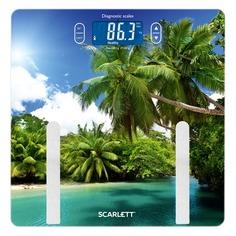 Напольные весы SCARLETT SC-BS33ED12, до 180кг, цвет: рисунок